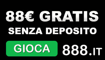 888 bonus senza deposito