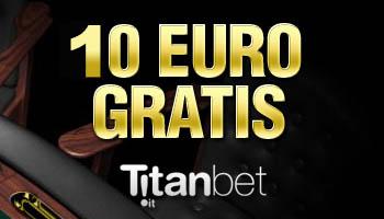 Titanbet bonus senza deposito